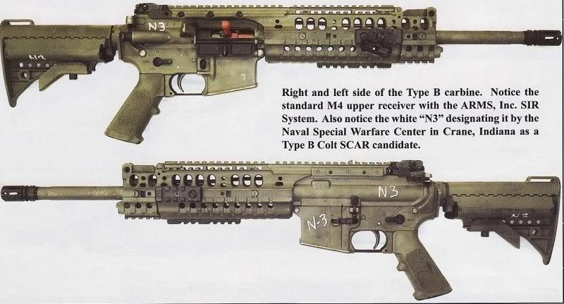 SCAR Type B – The Colt AR-15 Resource